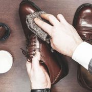 Leather shoes cleaning 180x180 - خریدکفش زنانه چرم