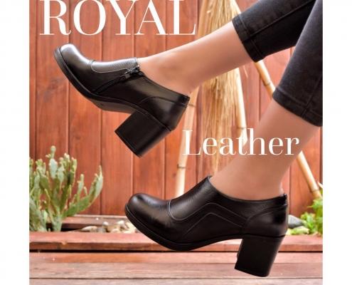 کفش چرمی زنانه